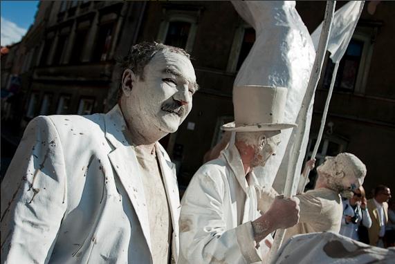 Cezary Przybylski podczas Gliniady 2008