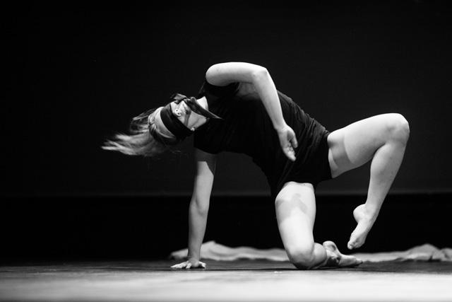 Natalia Mojsa z pracowni tańca nowoczesnego MDK